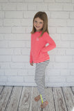 Girls Sherbet Long Sleeve Top