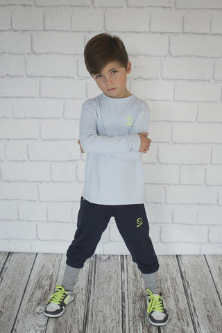 Boys Navy Trackpant