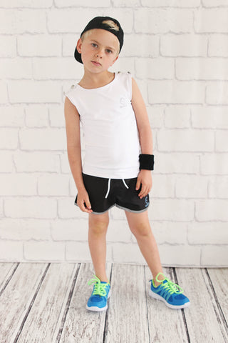 Boys Short Black Short