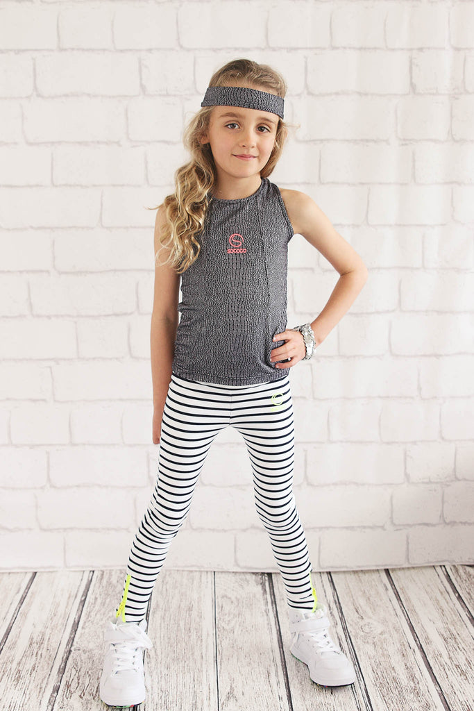 Girls Jacquard Singlet