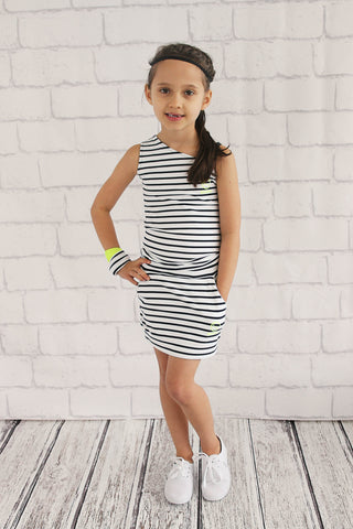 Girls Stripe Play Skirt