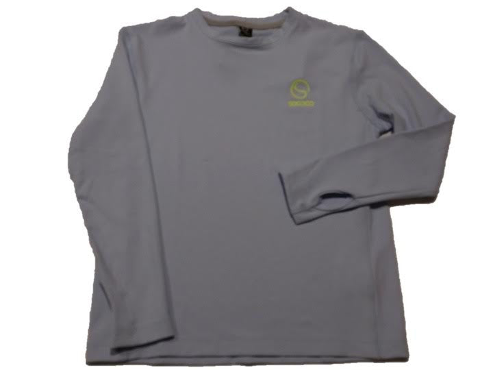 Boys Icy Blue Long Sleeve Top