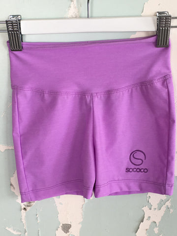 Girls Lilac Sprint Short
