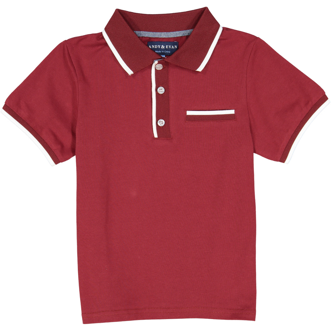 Maroon Polo - Andy & Evan