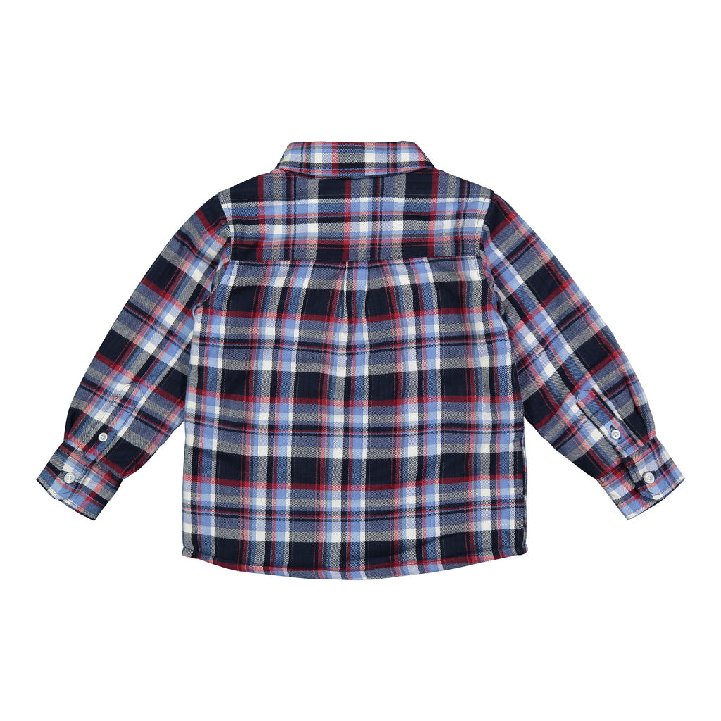 Blue & Red Plaid with Quilted Lining - Andy & Evan