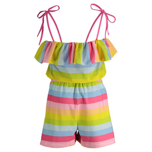 Rainbow Romper - Andy & Evan