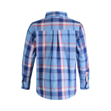 Load image into Gallery viewer, Blue & Pink Plaid Shirt - Andy & Evan