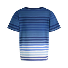 Load image into Gallery viewer, Blue Ombre Stripe Tee - Andy & Evan