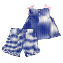 Load image into Gallery viewer, Blue Gingham Set - Andy & Evan