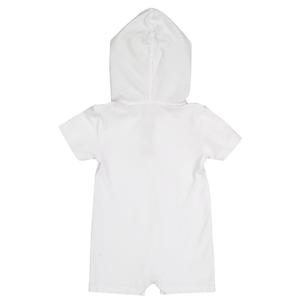 White Romper - Andy & Evan