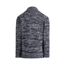 Load image into Gallery viewer, Blue Marled Cardigan - Andy & Evan