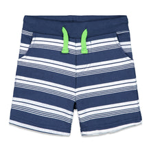 Load image into Gallery viewer, Navy Striped Short - Andy & Evan