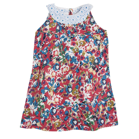 Eye of the Tigress: Floral Woven Dress