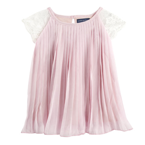 Chiff'on Trend: Ice Pink Chiffon Baby Doll Dress