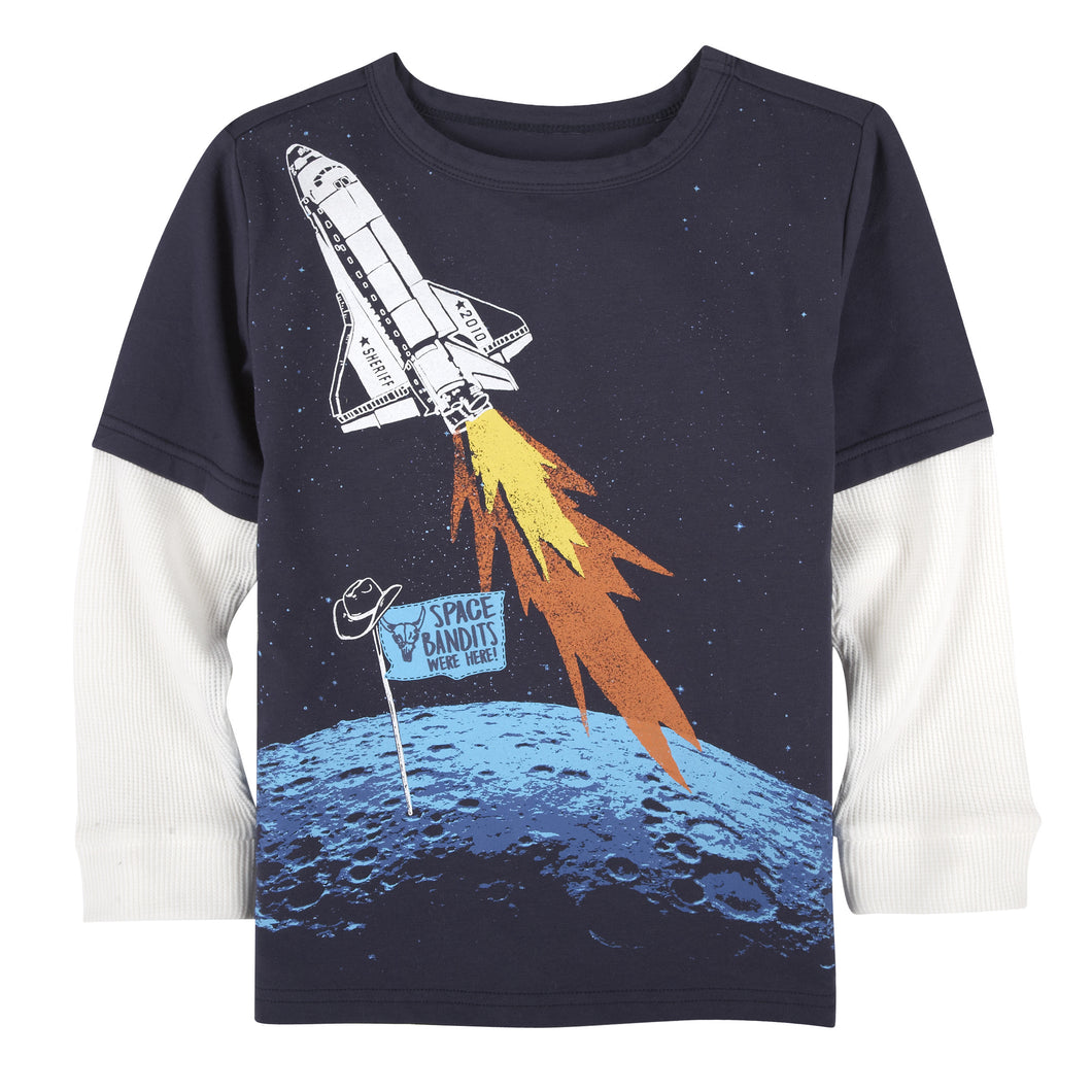Space Bandits T-Shirt - Andy & Evan