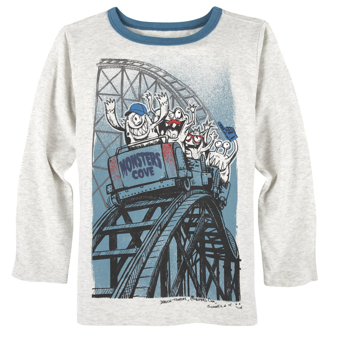 Rollercoaster T-Shirt - Andy & Evan