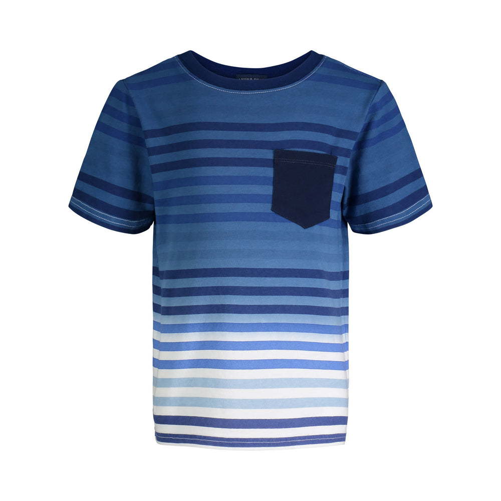Striped Tee & Short Set - Andy & Evan