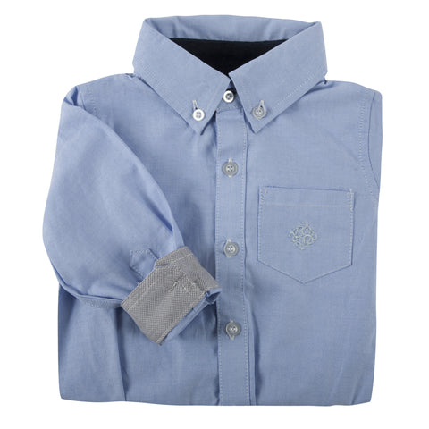 Little S'Collar Oxford Shirtzie/Shirt