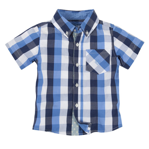 Lil' Drummer Boy: Buffalo Check Shirtzie/Shirt