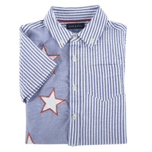 Load image into Gallery viewer, July Fourth Short Sleeve Button-down Shirt - Andy & Evan