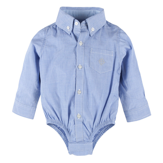 Blue Chambray Buttondown - Andy & Evan