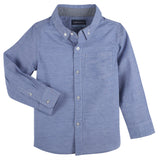 Blue Chambray Classic LongSleeve Button-down Shirt