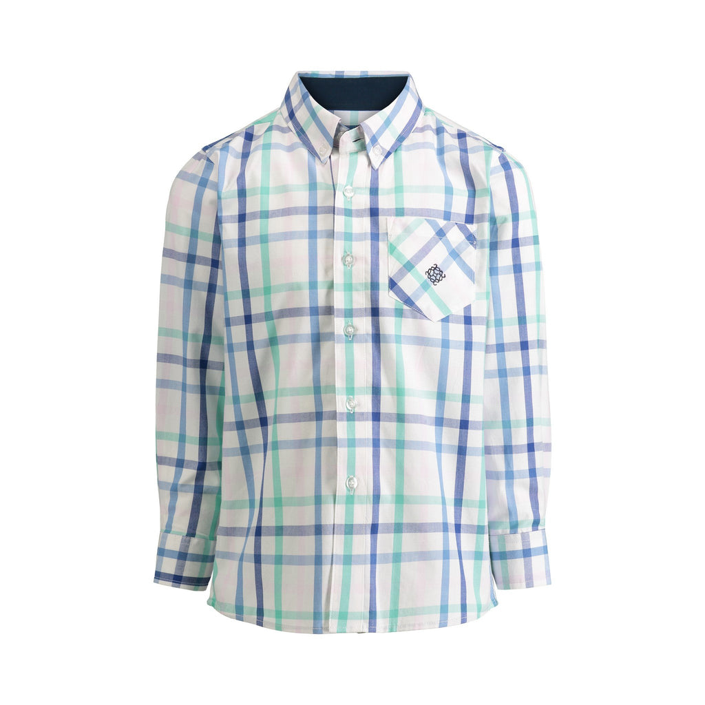 Pastel Check Shirt - Andy & Evan