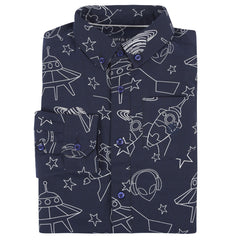 Navy Galaxy Shirt
