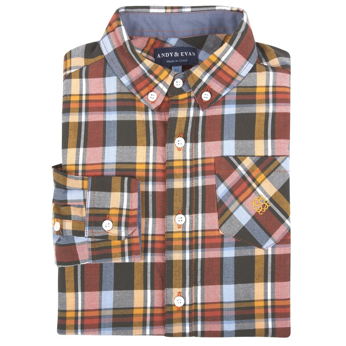 Thankgiving Flannel Shirt - Andy & Evan