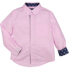 Pink Mini Check Shirt