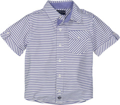 Blue Stripe Bamboo Shirt
