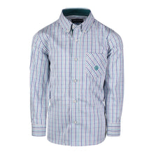 Load image into Gallery viewer, Teal Check Buttondown - Andy & Evan