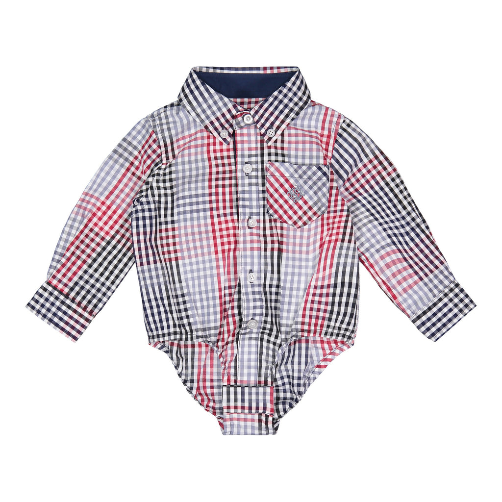 Multi Check Buttondown - Andy & Evan