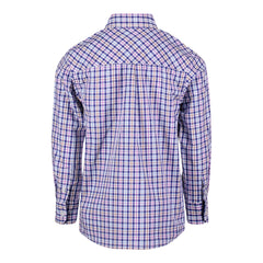 Navy Check Buttondown