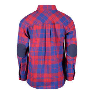 Blue & Red Plaid Flannel - Andy & Evan