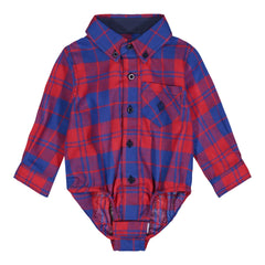 Blue & Red Plaid Flannel