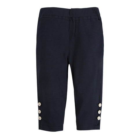 The Casey Capris: Navy Capri