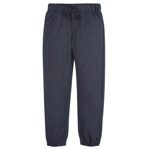 Navy Suiting Joggers