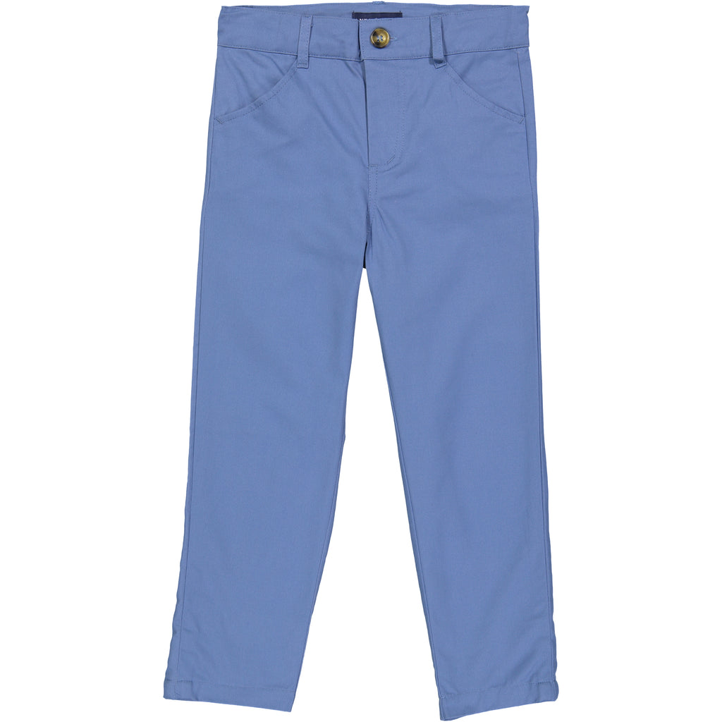 Blue Twill Pant - Andy & Evan