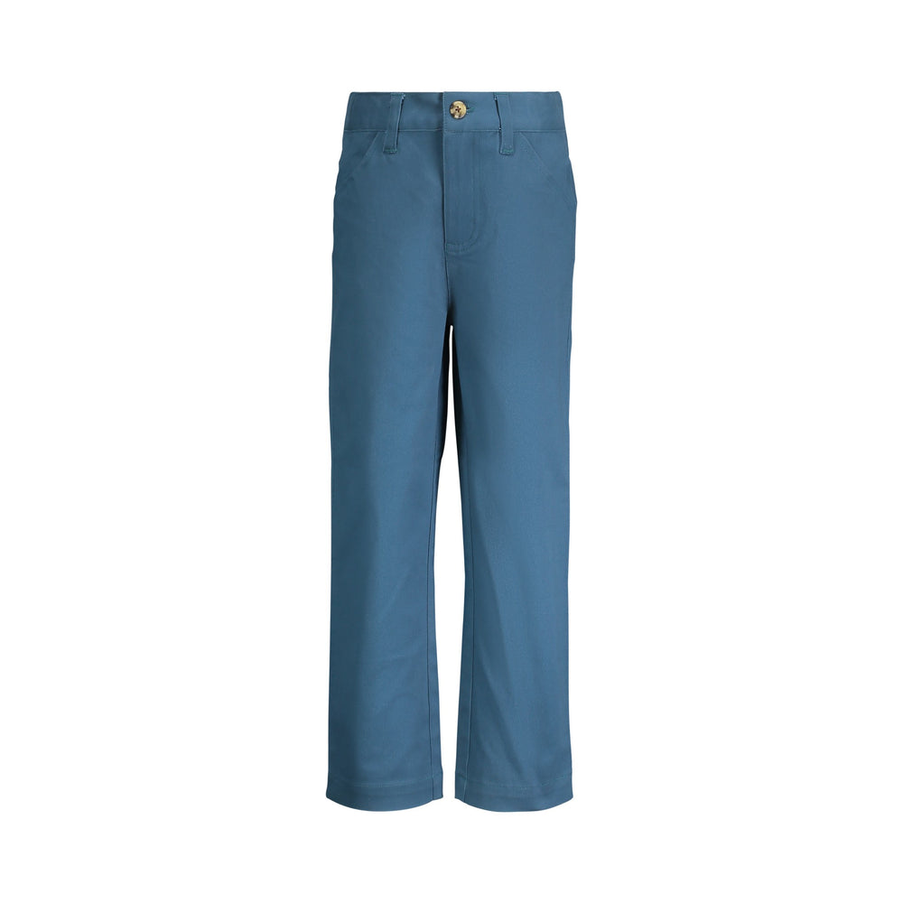 Teal Twill Pant - Andy & Evan