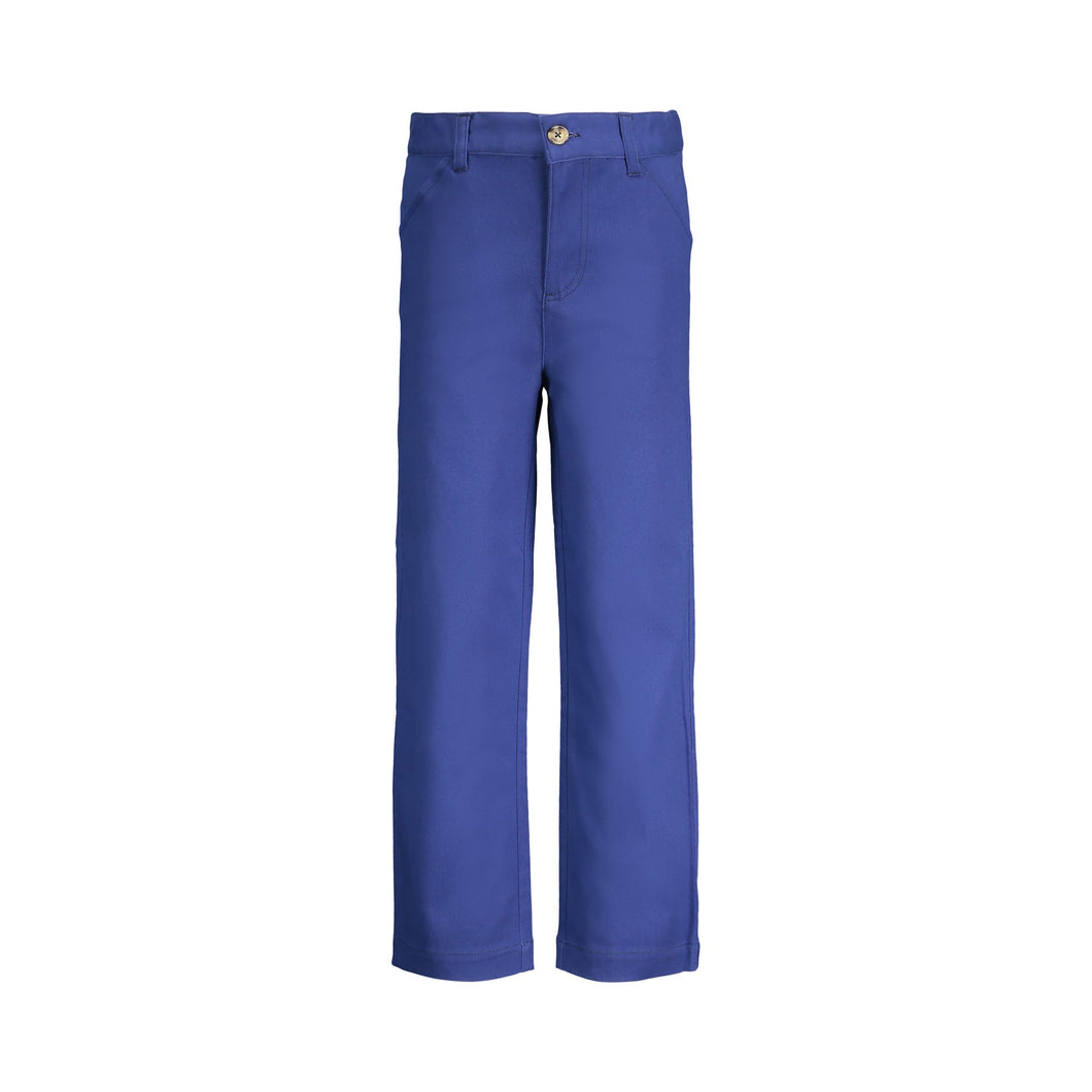 Blue Twill Pants - Andy & Evan