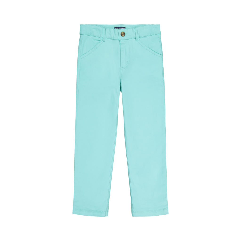 Mint Twill Pant - Andy & Evan