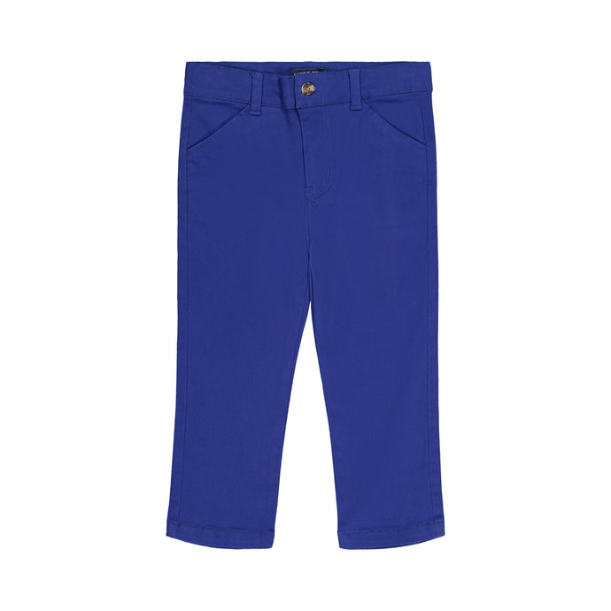Colbalt Blue Twill Pant - Andy & Evan