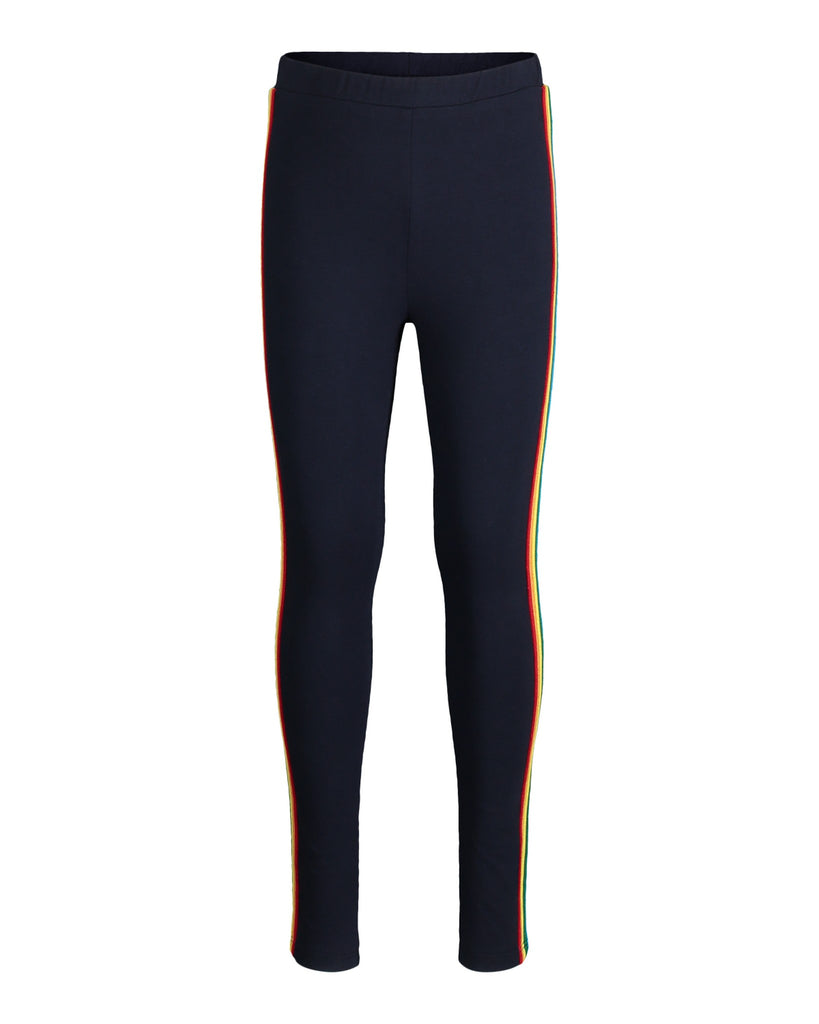 Girls Navy Sporty Legging - Andy & Evan