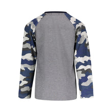 Load image into Gallery viewer, Grey Camo Henley - Andy & Evan