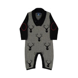 Reindeer Toggle Romper