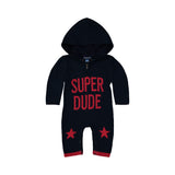 Super Dude Sweater Romper