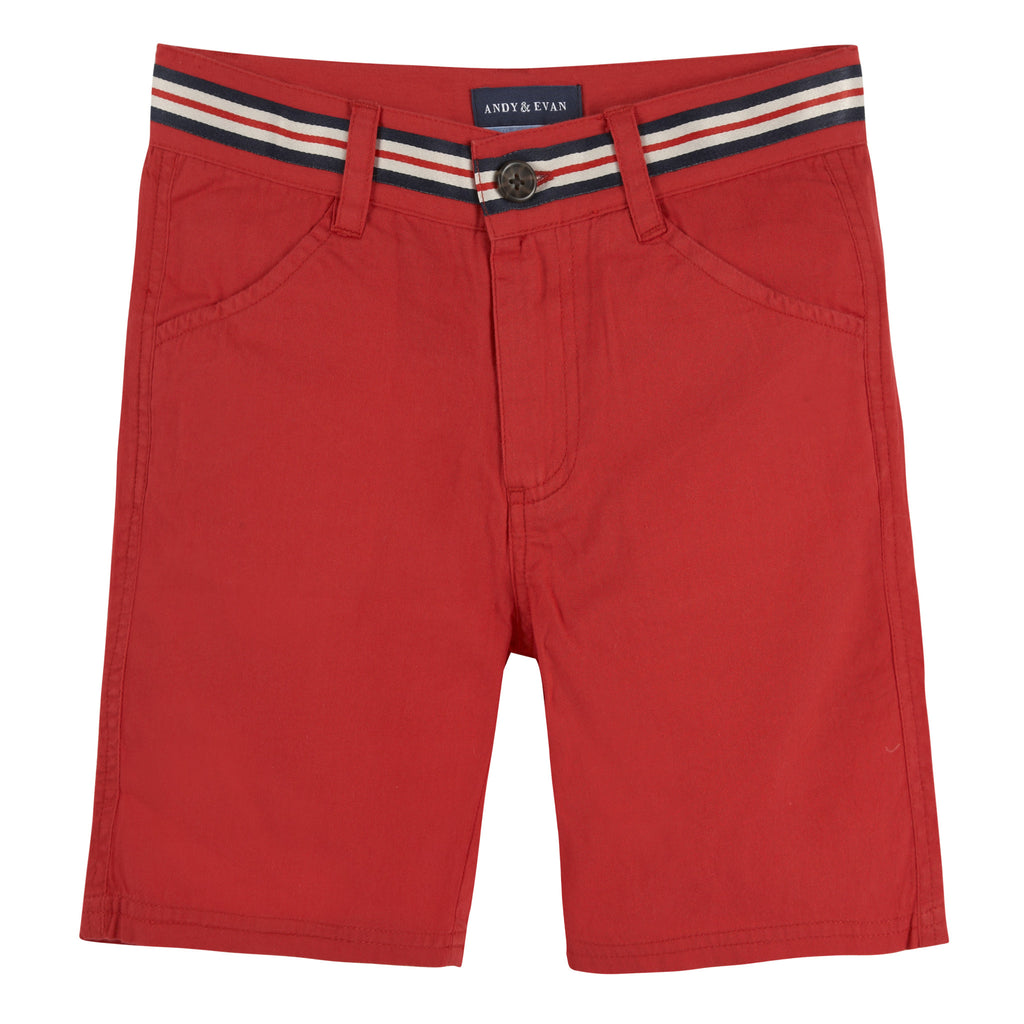 Red Belted Short - Andy & Evan