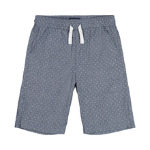 Load image into Gallery viewer, Blue Oxford with White Dot Jogger Short - Andy & Evan