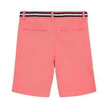 Load image into Gallery viewer, Belted Coral Twill Short - Andy & Evan